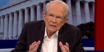 Pat Robertson Says Trump 'Is In Danger Of Losing The Mandate Of Heaven'