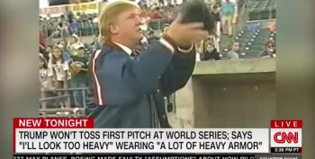 Trump's Rival Will Throw First Pitch At Nationals Game 5