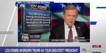 Chris Matthews Laughs At Lou Dobbs 'North Korean State TV'