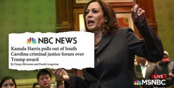 Sen. Kamala Harris' Boycott Prompts Sponsorship Removal At Forum