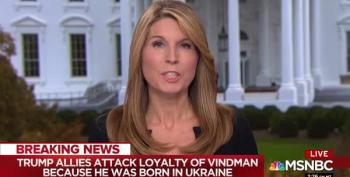 Nicolle Wallace : Vindman Critics Are 'Chickensh*t'