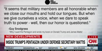 Former Mattis Aide Talks About Trying To Work For Donald Trump