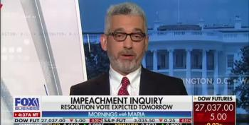 Fox Business Guest Gives Interesting Definition Of Impeachment