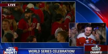 Washington Nats Fan Celebrates World Series Win With 'A**hole In The F*cking White House'