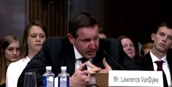 Unqualified Trump Judicial Appointee Cries At Hearing