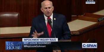 Louie Gohmert On Impeachment: 'Coup, Civil War And Guns'