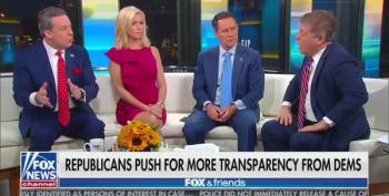 Napolitano Makes Fox And Friends Sad: Schiff Is 'Following The Rules'