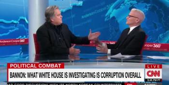 Hey, Anderson Cooper! If You're Going To Have Lying Steve Bannon On, Do A Better Job