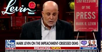 Mark Levin Loses His Mind, Yells At Democrats For Running