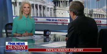 Chris Wallace Presses Kellyanne Conway On The 'Merits' Of The Impeachment Hearings
