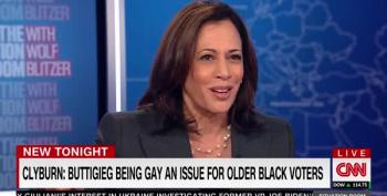 Kamala Harris Pushes Back Against Trope About Black Community