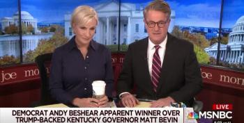 Joe Scarborough Gleefully Blames Trump For Losing Kentucky Governor's Race