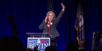 Bedlam At GOP Headquarters: 'Matt Bevin Has Won!'