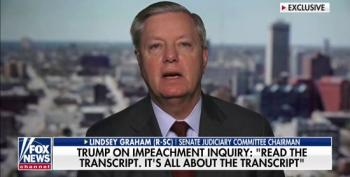 Graham: Any Impeachment In House That Doesn't Expose The Whistle-Blower Is 'Invalid'