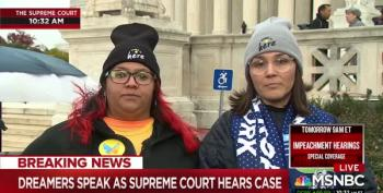Supreme Court Hears Arguments In DACA Case Today
