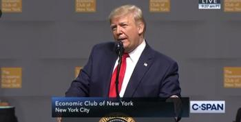 Trump To NY Economic Club: There Are Lawless People In High Places