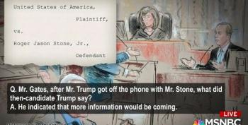 Roger Stone Trial: Rick Gates Testifies That Trump Knew About Wikileaks Dumps In Advance