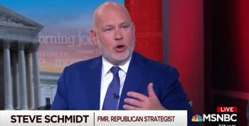 Steve Schmidt: Trump Will Dump Pence For Nikki Haley