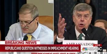 Bill Taylor Clashes With Jim Jordan For Calling Him A 'Star Witness' For The Democrats
