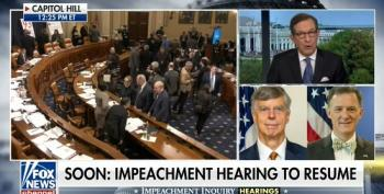 Chris Wallace Reacts To Impeachment Hearing Openings: 'Very Damaging To The President'