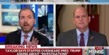 GOP Rep Makes Ridiculous Assertion That Impeachment Isn't Congressional Oversight
