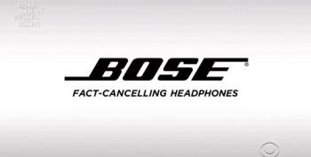 Colbert Presents GOP/Bose 'Fact Cancelling Headphones'