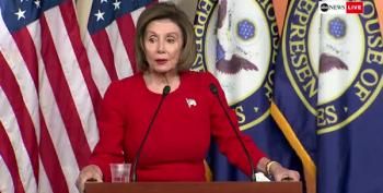 Snap!  Pelosi Throws Shade At Trump During Presser