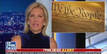Laura Ingraham Literally Said 'Attempted Bribery Is Not In Constitution'