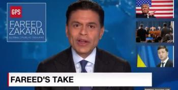 Ukrainian President Zelensky Was Going To Announce Biden Investigation On Fareed Zakaria GPS