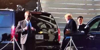 VIDEO:  Trump Rushed To Hospital?