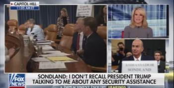 Bret Baier And Martha MacCallum React To Sondland Testimony