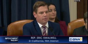 Eric Swalwell Enters Devin Nunes' Work With Indicted Giuliani Associate Into Congressional Record