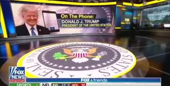 Highlights Of Trump's Wacko 50-Minute Call With Fox And Friends