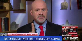 MSNBC Analyst Tells Amb. Bolton To 'Woman Up'