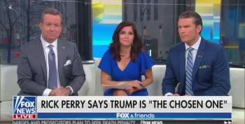 Rick Perry: Trump Is 'The Chosen One', Sent To Us By God