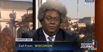 Elie Mystal Talks Reparations With Republican CSPAN Caller