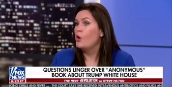 Sarah Sanders Brag Lies About How Much Trump Reads