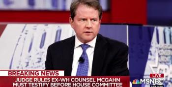 BREAKING: Don McGahn Must Testify In Front Of House Of Reps