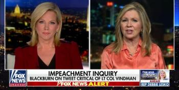 Marsha Blackburn Stands By Her Tweet Smearing Lt. Col. Vindman