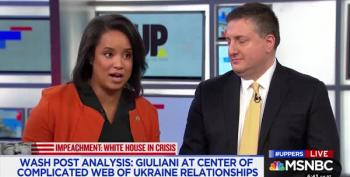 David Gura's Guest Calls Trump Giuliani's 'Product' To Be Sold