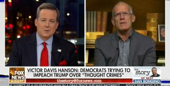 National Review Writer Accuses Dems Of Trying To Impeach Trump For 'Thought Crimes'