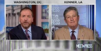 Chuck Todd Asks Sen. Kennedy If He's Concerned About Being 'Duped' By Russian Propaganda