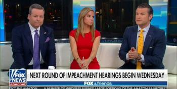 Fox Hosts Whine About 'Jerry-Rigged' Impeachment Hearings