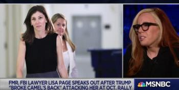 Molly Jong-Fast On Trump's Hatred For Lisa Page