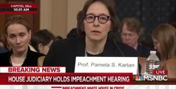 Prof. Pamela Karlan Lights Into Doug Collins To Start Her Opening Statement