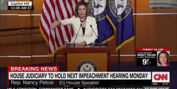 Speaker Pelosi Rips Reporter For Suggesting She 'Hates' Trump