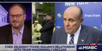 Rudy Giuliani Isn't Even Trying To Hide His Efforts In Ukraine