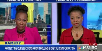 Joy Reid Discusses Digital Voter Supression