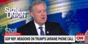 Dana Bash Nails Mark Meadows On Biden Double Standard