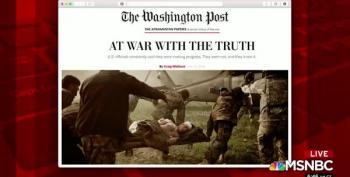 Washington Post Publishes Stunning Secret Documents Of Afghanistan War